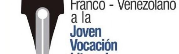 Anuncio del ganador de la segunda edición del Premio Franco-Venezolano a la Joven Vocación Literaria