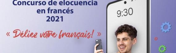 Concurso de elocuencia en francés en el marco de la Fiesta de la Francofonía 2021